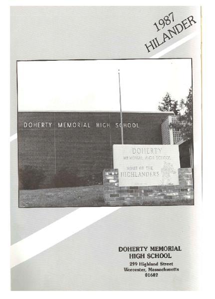 Class Of 1987 Doherty Memorial High School